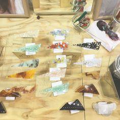 HMJ たくさんの方に お立ち寄りいただき 本当にありがとうございました  お客様といっぱいお話しができ楽しい時間を過ごすことができ あっと言う間の2日間でした  お買い上げいただいた商品たくさん使っていただけると嬉しいです  東京はまた8月に出店です  またお会いできること楽しみにしています   #hmj #sAn #san_official  #handmade #シラタキカク #アクリルアクセサリー #アクリル #acrylicresins #acrylic #accessories #アクリルワンダーワールド#バレッタ #アクリルピアス #アクリルパーツ #アクリルビジュー #アクリル素材 #アクリル加工 #ヘアアレンジ #アクリルバレッタ #ヘアアクセ #ヘアアクセサリー #サンカクバレッタ#バレッタアレンジ #アクリル板 #madeinjapan #ヘアクリップ #サンカククリップ #レーザー加工 #hairclip #UniversalLaserSystems