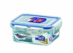 smallest size-- good for snack time Amazon.com: Lock and Lock BPA Free Rectangular Food Container with Leak Proof Locking Lid, Short, 0.7-Cup, 6.1 Fluid Ounce: Kitchen & Dining