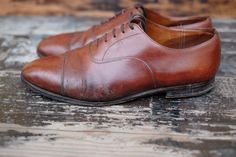 http://chicerman.com  dandyshoecare:  Oldies & Goldies by Dandy Shoe Care for Mr. R.V. from Magliacane(Catanzaro).  A strenuous and demanding restoration of the Churchs born in 1992 has finally come to fruition.  I really appreciate gentlemen that do not throw away the old shoes but try to restore and give them a second life (if possible of course). It is a very noble gesture that is becoming increasingly rare in this era of consumerism.  To solve such severe problems takes time much time…