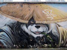 GRAFFITI / STREET ART SHANGHAI CHINA #graffiti #streetart #china