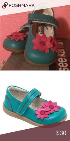 See Kai Run Aqua Marlo See Kai Run Aqua Marlo. Adorable leather shoes, perfect for Spring! New with box. Size 05. See Kai Run Shoes