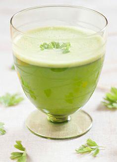 Suco verde anticelulite