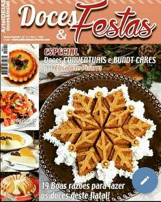 Revista Doces & Festas n'11 Especial Doces Conventuais e Bundts por Elisabete Pizarro (Dezembro 2017)