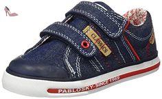 Pablosky 797720, Chaussures Garçon, Bleu, 35 EU