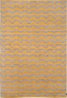 Hemp rug Archipelago Golden by Brita Sweden