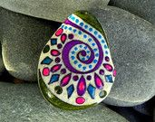 A Happy Earth / Painted Rock / Sandi Pike by LoveFromCapeCod