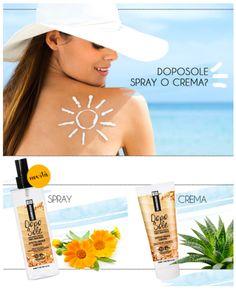 Che sia Spray o Crema, scegli BIO SUMMERSUN!    #qualikos #aftersun #unestatealmare
