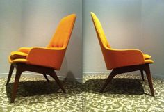 ADRIAN PEARSALL CHAIR or Ib Kofod Larsen High Back by TheAvidDiva, $2950.00