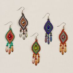 (http://www.altiplano.com/pointed-drop-earrings-with-fringe/) $26