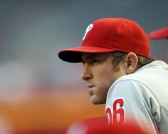 Chase Utley - not only are you a sick ball-player, not only are you super-nonchalant about however you play, but you play CASHMERE when you walk up to bat. Dude, athletic, humble, good taste in music. Check. check. check.