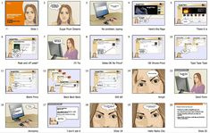Buying Tickets Online Storyboard- show the #UX or #CX through #stortyelling