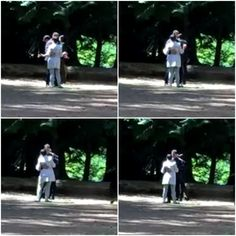Josh Dallas and Ginnifer Goodwin having a dance between takes <3