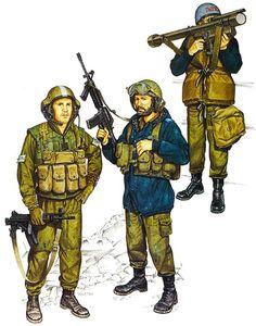 • Merkava MBT crewman, 1985  • 1st Lt., Vulcan A/A unit; Lebanon, 1985  • Missile boat crewman, INS SOUFAH, 1985