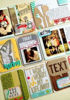Scrapbook & Cards Today Blog: More Project Life with Nicole Harper!