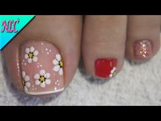 Hair And Nail Salon, Hair And Nails, Toe Nail Designs, Almond Nails, Manicure And Pedicure, Toe Nails, Lily, Nail Art, Valentines