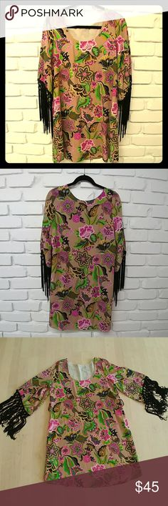 dd3f1273200066 I just added this listing on Poshmark  Voom by Joy Han retro vintage  printed dress