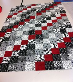 Scrappy Trip around the world: Sadly Not Mine!!   by quilting gammy