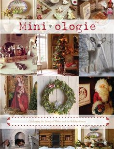 Other Publications: Winter/Holiday Miniologie, $21.95 from HP MagCloud