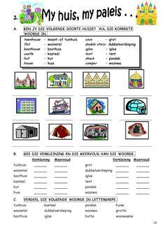 1st Grade Math Worksheets, Preschool Worksheets, Classroom Activities, Afrikaans Language, Learn Dutch, Sunday School Teacher, Teachers Aide, Teaching Techniques, Teaching Aids