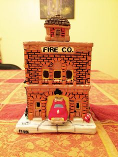 #christmasvillage #fireco #ceramicpainting