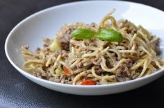 One pot pasta à la viande hachée One Pot, Couscous, Bento, Ethnic Recipes, Quiches, Cup Cakes, Risotto, Food, Ground Meat