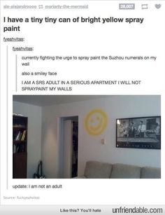 I need paint.