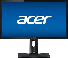 "Acer - CB281HK 28"" LED 4K UHD Monitor - Black"