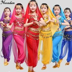b71fd433bb2b US $5.5 |Kids Child Belly Dance Costume Oriental Dance Costumes Belly Dance  Dancer Clothes Bollywood Indian Dance Costumes For Kids Girls-in Belly  Dancing ...
