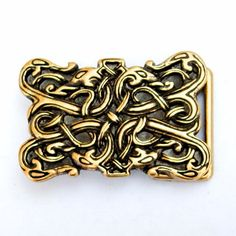 Viking style buckle with dragon motif 09 Buck 3 SW: by PeraPeris