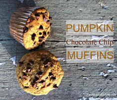 Pumpkin Chocolate Chip Muffins - Powered by @ultimaterecipe Pumpkin Chocolate Chip Muffins, Chocolate Chip Recipes, Mini Chocolate Chips, Whole Wheat Muffins, Chips Recipe, Food Test, Food Print, Real Food Recipes, Wellness