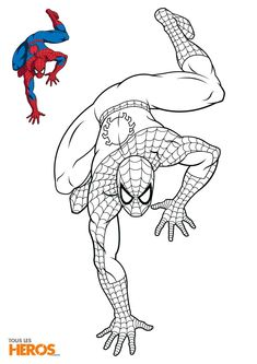 Discover recipes, home ideas, style inspiration and other ideas to try. Avengers Coloring Pages, Superhero Coloring Pages, Spiderman Coloring, Marvel Coloring, Spring Coloring Pages, Colouring Pages, Coloring For Kids, Adult Coloring Pages, Coloring Books
