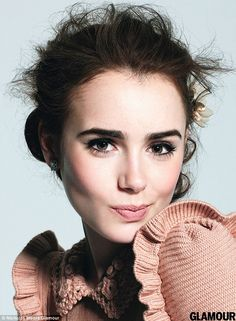 """""""It's the quirky things that make you beautiful.""""     — Lily Collins"""