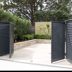 bi-fold swing entry gate #gates
