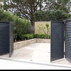 bi-fold swing entry gate #gates