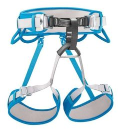 The CORAX is the versatile harness par excellence: easy to use and comfortable, it is designed for rock climbing, mountaineering or via ferrata. Climbing Harness, Rock Climbing, Thinner Thighs, Adjustable Legs, Stay In Shape, Mountaineering, Easy To Use, Green And Grey, Ski