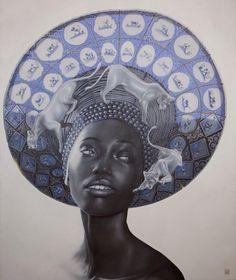 ' Dutch Lioness '  Afro, woman