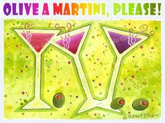 The MARTINI DIVA: How to Make Martinis in a Batch for a Party