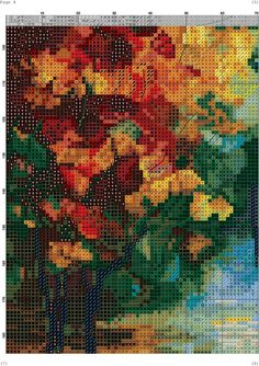 VK is the largest European social network with more than 100 million active users. Dragonfly Cross Stitch, Cross Stitch Landscape, Needlepoint, Cross Stitch Patterns, Crafts, Painting, Zoom Zoom, Crossstitch, Art