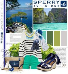 """""""Sperry...A Passion for the Sea"""" by lollypop1 on Polyvore"""