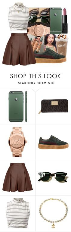 """""""Aesthetic"""" by ayeshesmindless on Polyvore featuring MICHAEL Michael Kors, Michael Kors, Puma, Marina Hoermanseder, Ray-Ban, Chanel and NARS Cosmetics"""