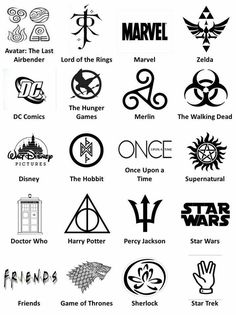Star Wars, Lord of the Rings, the Hobbit, ect. I've seen I lot of these things, but I'm only really into a few.