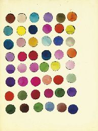 Andy Warhol, Untitled (Circles), c. 1960, ink and watercolor on paper, 56 x 42.5 cm