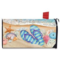 Briarwood Lane Grandkids Spoiled Here Magnetic Mailbox Cover Christmas Gingerbread Standard
