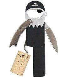 Legless Pirate Corkscrew / Bottle Opener - used Best Yankee Swap Gifts, Bbq Gifts, Wine Gifts, Design Exterior, Wine Bottle Opener, Bottle Labels, Unusual Gifts, White Elephant Gifts, Gifts For Husband