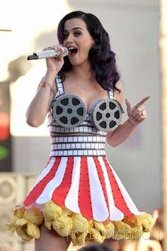 Holly Madison - Katy Perry Costumes Fashion Friday