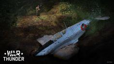 My new War Thunder artwork - Moment of silence. #warthunder #ki61