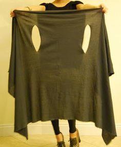 Alinhavos de Moda - Mania de inventar moda.: Conversando com você sobre o maxi colete...