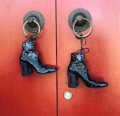 WEBSTA @ mariamgvasaliaofficial - Black leather shoes by Mariam Gvasalia. PREORDER!!! Address:  Leselidze str. 27/1 📍Old Tbilisi #mariamgvasalia #mariamgvasaliashoes #mariamgvasaliastore #mariamgvasaliastudio #mariamgvasaliaclothing #georgiandesigner #tbilisi #georgia