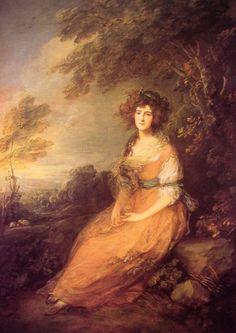 Mrs Sheridan. Томас Гейнсборо
