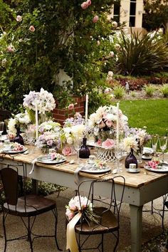.Garden setting ~ lovely